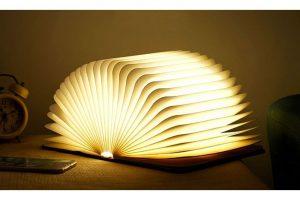 Bild von 1x, 2x oder 4x LED-Tisch-Lampe im klassischen Buch-Design in kleiner oder großer Ausführung