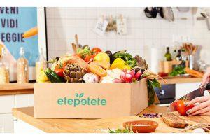 Bild von Wertgutschein über 21,90 € anrechenbar auf Boxen mit krummem Bio-Obst und Bio-Gemüse inkl. Versand bei etepetete