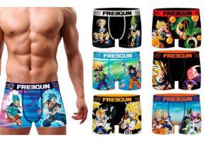 Produktbild von Freegun 3er- oder 6er-Pack Boxershorts für Herren mit Dragon Ball-Motiv