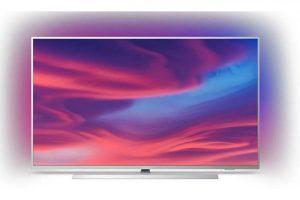 Bild von Philips 55PUS7334/12 139 cm (55″) LCD-TV mit LED-Technik hellsilber / A+