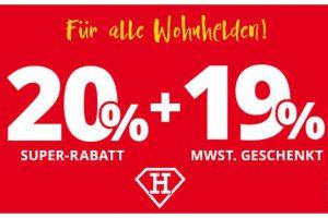 Bild von Höffner schenkt euch die MWST. -19%