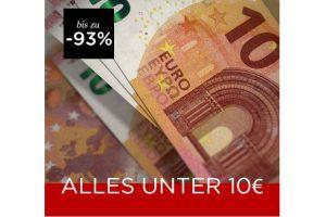Bild von Alles unter 10€ bis zu 93% reduziert