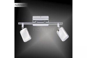 Bild von Leuchten Direkt WELLA Wandleuchte LED Chrom, 2-flammig – Modern/Design/Junges Wohnen/Puristisch – Innenbereich – versandfertig innerhalb von 2-4 Werktagen