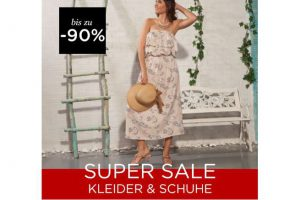 Bild von Kleider & Schuhe bis zu 90% reduziert