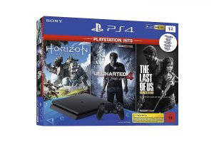 Bild von Sony PlayStation 4 Slim – 1TB PlayStation Hits Bundle schwarz (9932703)