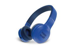 Bild von JBL E45BT Blau – On Ear – Bluetooth Kopfhörer mit Mikrofon