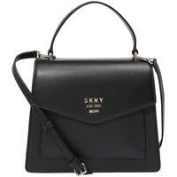 Produktbild von DKNY Damen Handtasche 'WHITNEY SATCHEL-PEBBLE' gold / schwarz