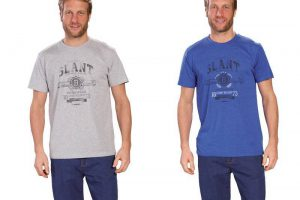 Bild von T-Shirt mit Frontdruck
