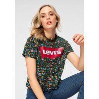 Bild von Levi's® T-Shirt Graphic Varsity Box-Tee Allover Millefleure-Print