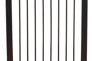 Bild von Baby Dan Türschutzgitter Premier, schwarz, 73,5 – 79,6 cm