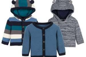 Bild von LUPILU® PURE COLLECTION Baby Jungen Strickjacke