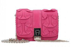 Bild von Aigner Carrie Mini Bag Umhängetasche Leder 15,5 cm