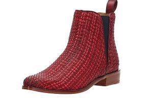 Produktbild von Melvin & Hamilton Chelsea-Boots Marlin 13, Leder, rot