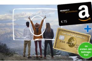 Produktbild von Jetzt Gold Card beantragen und sorgenfrei reisen + 75€ amazon Gutschein + Zugang Airport Lounge + 1. Jahr kostenlos