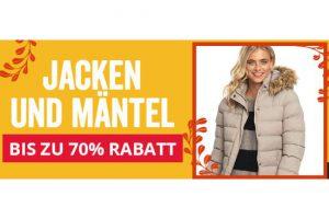 Bild von Jacken & Mäntel bis zu 70% reduziert