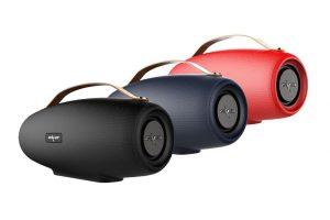 Bild von Zealot Bluetooth Ultrabass-Lautsprecher in Schwarz, Blau und Rot