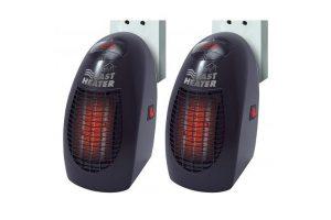 Bild von 2x Starlyf Fast Heater Mini-Heizung Heizlüfter Schnellheizer Elektro-Heizer 400W