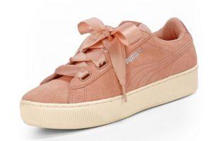 Bild von Puma Vikky Platform Sneaker – Damen – rosé jetzt im Angebot
