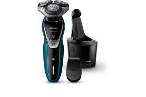 Produktbild von PHILIPS Shaver series 5000 S5550/72 Nass- Trockenrasierer + SmartClean-System