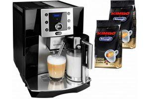 Bild von De'Longhi Kaffeevollautomat Perfecta ESAM 5550.B, herausnehmbare Brühgruppe, schwarz