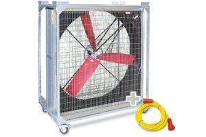 Bild von Windmaschine TTW 45000 + Profi-Verlängerungskabel 20m / 400 V / 2,5mm²