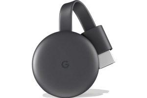 Produktbild von Google Chromecast 2018 schwarz