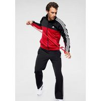 Bild von adidas Performance Trainingsanzug POLYESTER 3 STRIPES TRACKSUIT MEN (Set, 2 tlg)