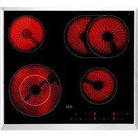 Bild von AEG Elektro-Kochfeld HK634060XB, mit Stop&Go-Funktion schwarz