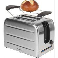 Bild von Hanseatic Toaster T386, 2 kurze Schlitze, 1050 W silberfarben