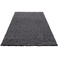 Bild von Hochflor-Teppich Viva, Home affaire, rechteckig, Höhe 45 mm grau 120×180 cm
