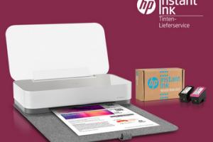 Produktbild von 12 Monate GRATIS drucken mit HP Instant Ink.