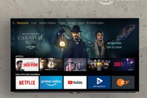 Produktbild von AKTION:  Grundig OLED Fire TV Edition Der erste OLED der Welt mit integrierter Amazon Fire TV Experience.