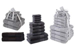 Bild von 6er-, 10er- oder 12er-Set Baumwollhandtücher in der Farbe nach Wahl