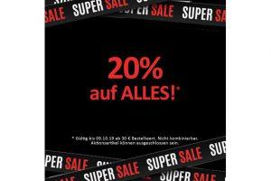 Produktbild von ALLES MUSS RAUS: Jetzt 20% sparen! | Code: MB061019 – Top Marken wie Puma, Tommy Hilfiger, adidas, Schiesser uvm.!