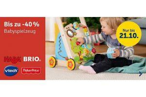 Bild von Bis zu 40% Rabatt auf Babyspielzeug