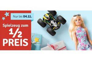 Bild von Spielzeug zum halben Preis