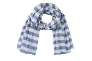 Bild von CONLEYS BLUE Schal, CONLEYS BLUE grau