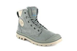 Bild von Palladium Boots Pampa Sport, gefüttert, Leder, hellblau