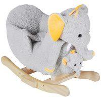 Bild von Knorrtoys® Schaukeltier Elefant Nele, (2 tlg), mit Sound und Handpuppe