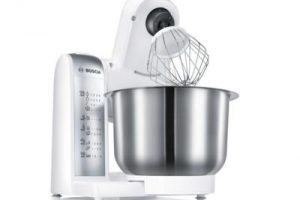 Bild von Bosch MUM4880 Küchenmaschine weiß/silber