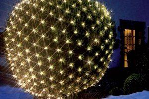 Bild von Lichternetz 3 x 3 m 200 LED, mit Flackereffekt
