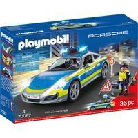 Bild von Playmobil® Konstruktions-Spielset Porsche 911 Carrera 4S Polizei (70067), City Action