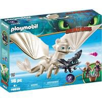 Bild von Playmobil® Konstruktions-Spielset Light Fury Spielset (70038), Dragons