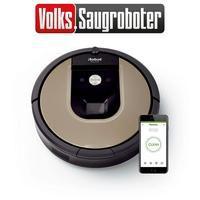 Bild von iRobot Saugroboter Roomba 966, Volks-Saugroboter, Appfähig