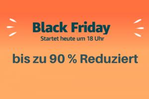 Produktbild von Amazon Black Friday 2019: Alle 60 Sekunden neue Deals bis zu 90% reduziert!