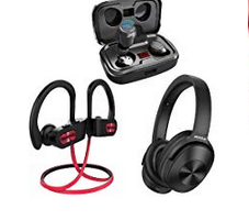 Bild von Bluethooth Kopfhörer und Lautsprecher bis zu 59% Rabatt