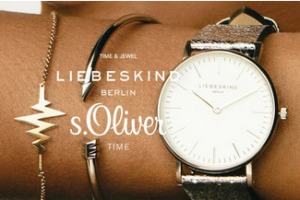 Bild von Liebeskind & s.Oliver Uhren und Schmuck Sale bis zu 66% Rabatt