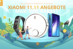 Bild von SinglesDay Alarm: Xiaomi Mega Sale -50%