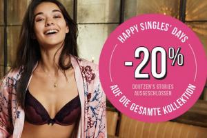 Bild von Happy SinglesDay! 20% EXTRA Rabatt auf ALLES!