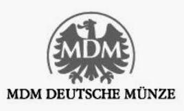 MDM Münzhandelsgesellschaft Logo